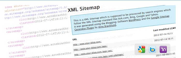 キャプチャー、GoogleXMLSitemaps