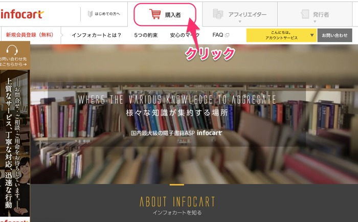 インフィカート購入者サイト