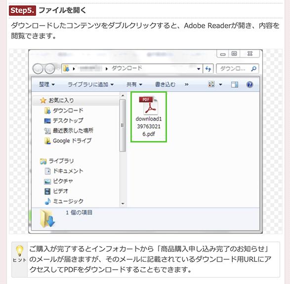 PDFファイルの見方