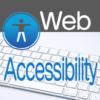 画像、Webaccessibility、キーボードとロゴ